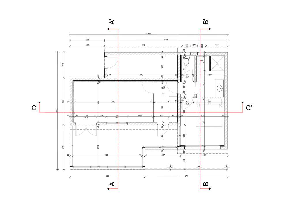 Estension-pavillon-plan