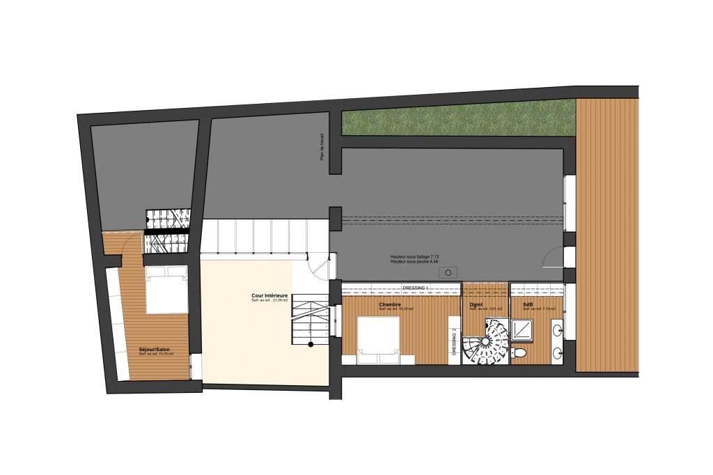 Rénovation-particulier-Poitiers-plan-R+1