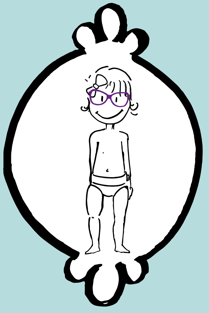Jeune fille opticia