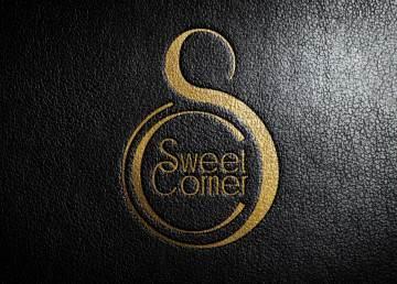 Sweet Corner logo mockup