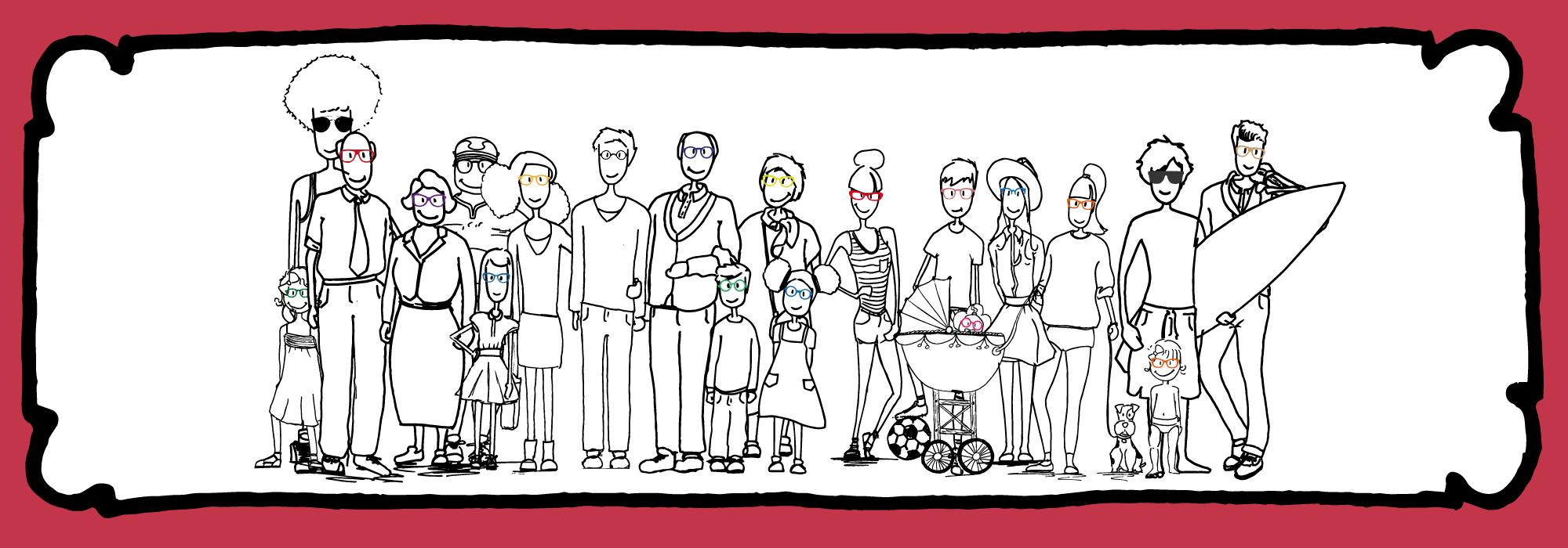 Tous les personnages opticia